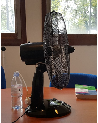 Brumisateur ventilateur interieur haut de gamme